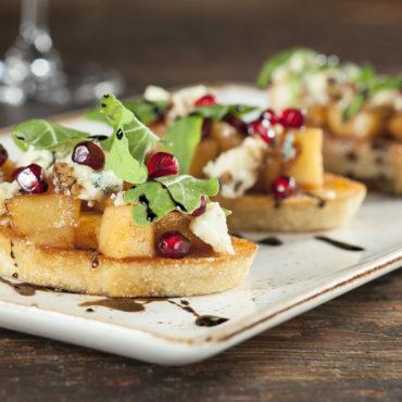 2016 San Diego Restaurant Guide  Restaurant: Bankers Hill Bar Dish: Farmers Market Bruschetta